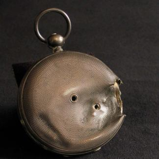 bullet struck pocket watch of sgt john o foering 86 20 3 1